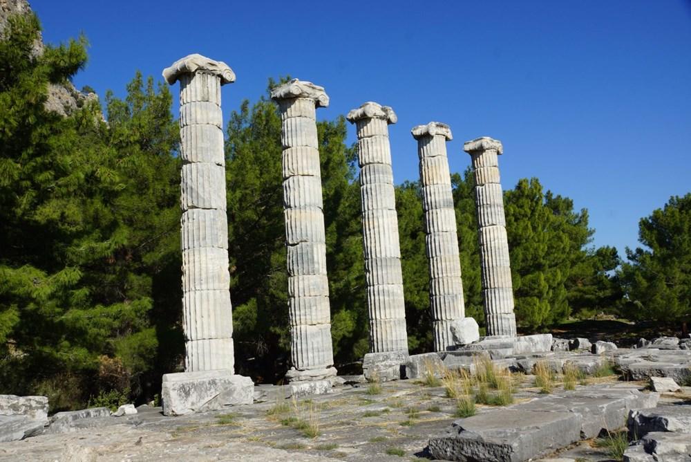 M.Ö. 4.yüzyılda kurulan ilk planlı şehir Priene - 6