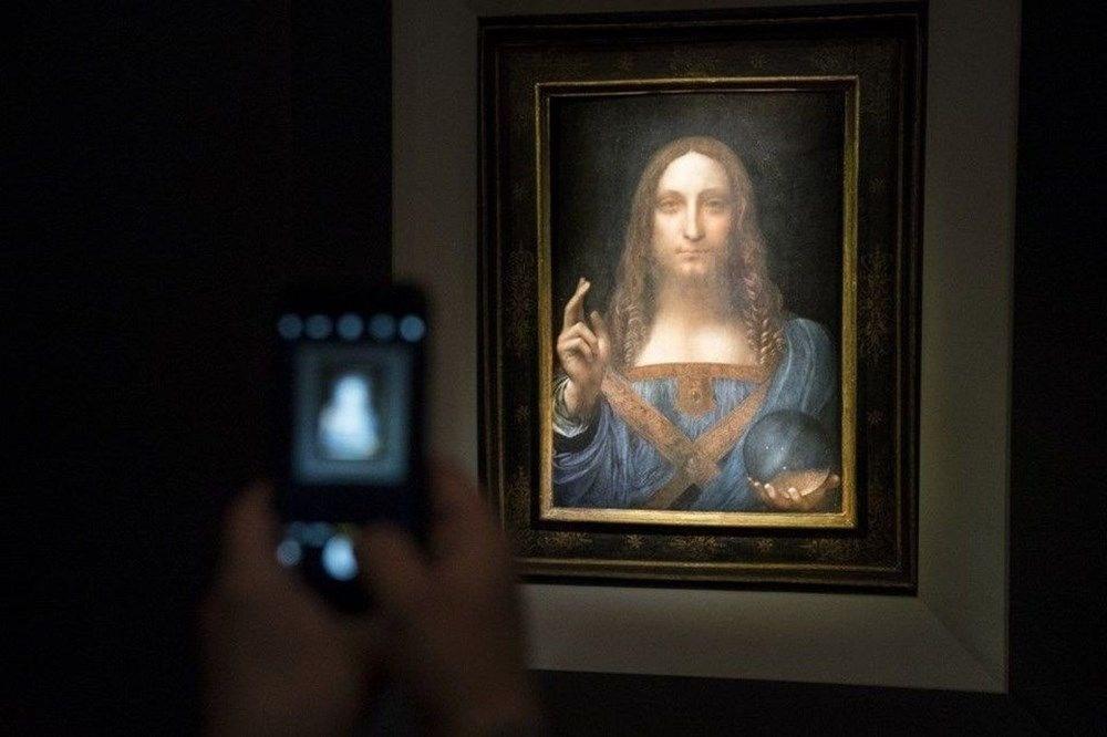 Dünyanın en pahalı tablosu olan Leonardo da Vinci'nin Salvator Mundi'si NFT olarak satışta - 7