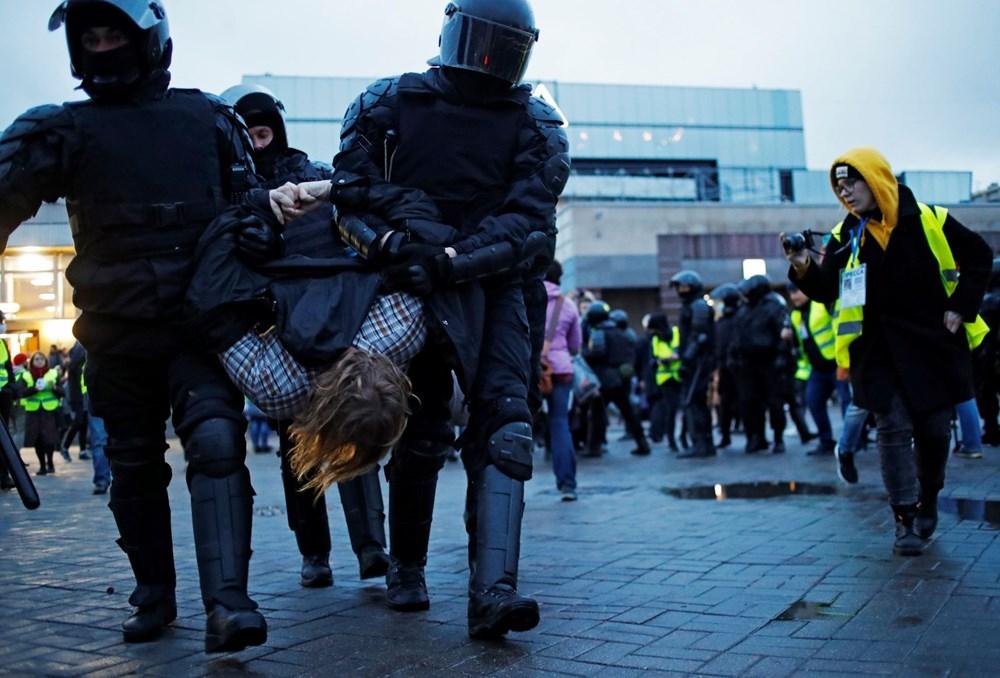 Rusya'da Navalny protestoları: Bin 700'den fazla kişi gözaltına alındı - 18