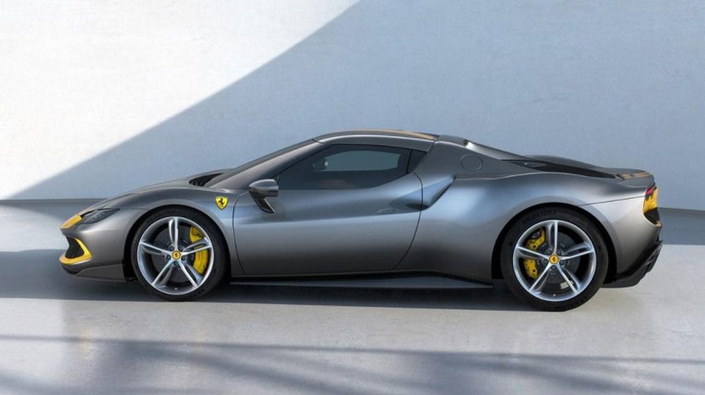 830 beygirlik hibrit Ferrari 296 GTB tanıtıldı - 10