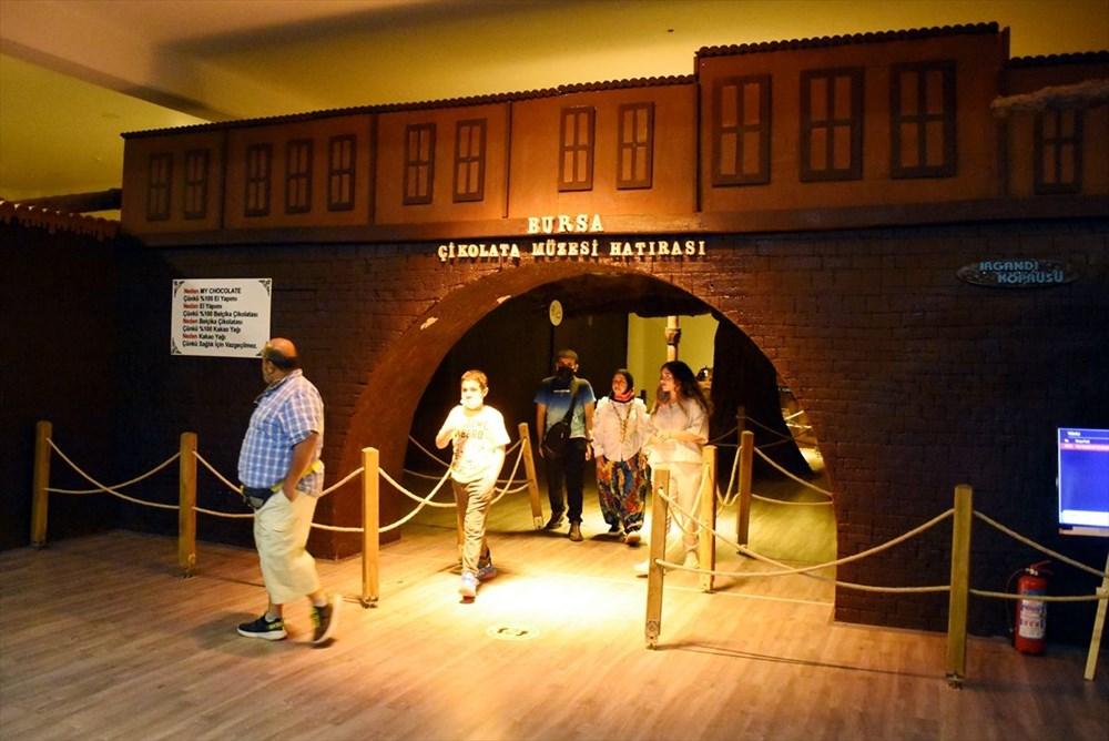 Bursa'nın en tatlı müzesi: 8 ton çikolata kullanıldı (Bursa Çikolata Müzesi) - 17