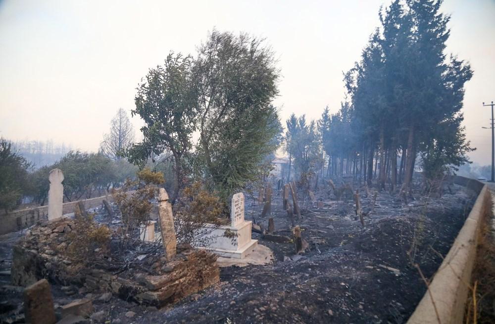 Manavgat'taki yangın evleri kül etti - 10