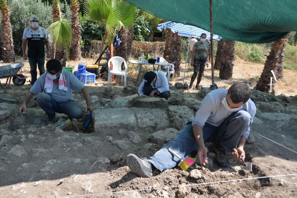 Astronominin kurucusu Aratos'un anıt mezarı için Soli Pompeiopolis'de kazı çalışmaları başladı - 8
