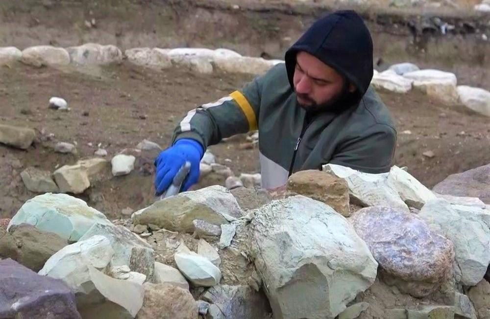 Amasya'da 2 bin 600 yıllık 'Kubaba Sunağı' keşfedildi - 4