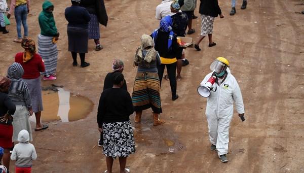 Afrika ülkelerinde corona virüs kaynaklı ölüm ve vakalar artıyor