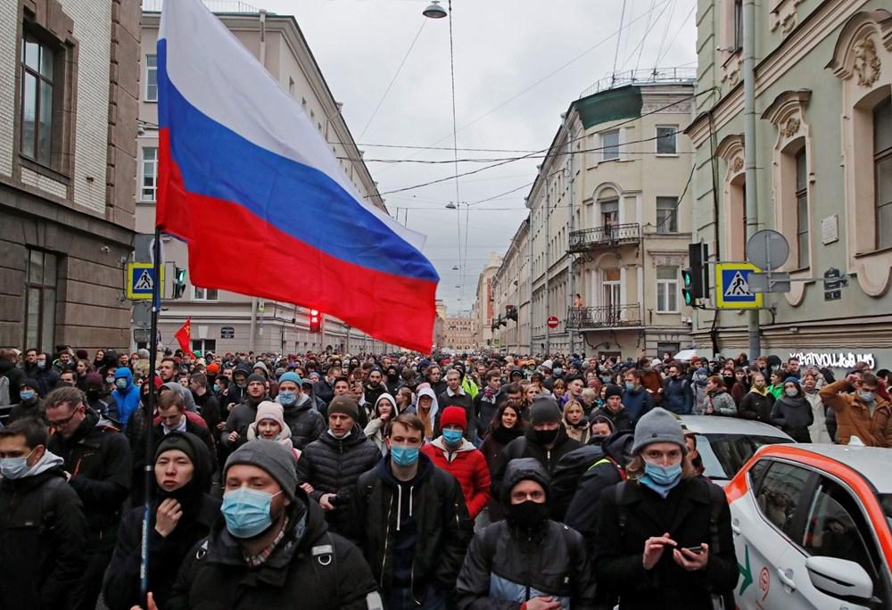 Rusya'da Navalny protestoları: Bin 700'den fazla kişi gözaltına alındı - 9