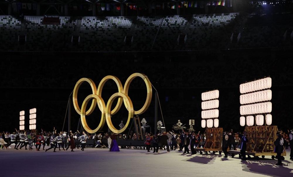 2020 Tokyo Olimpiyatları görkemli açılış töreniyle başladı - 63