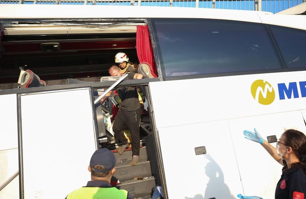 Kuzey Marmara Otoyolu'nda otobüs yoldan çıktı: 5 ölü, 25 yaralı - 2