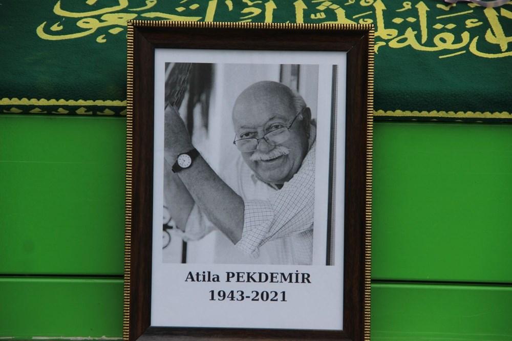 Atilla Pekdemir son yolculuğuna uğurlandı - 2