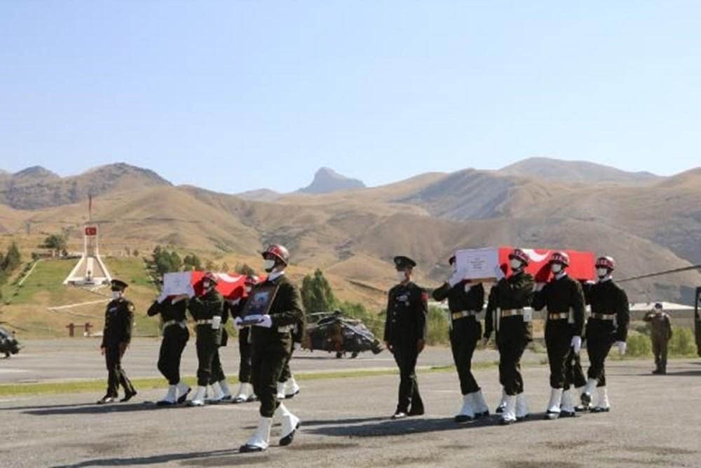 Şehit askerler için tören - 5