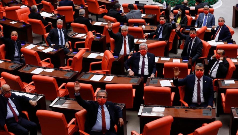TBMM'de maskeli oturum (47 günün ardından yeniden açıldı) | NTV