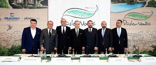 Galatasaray'ın Riva arazisine yapılacak projesi tanıtıldı