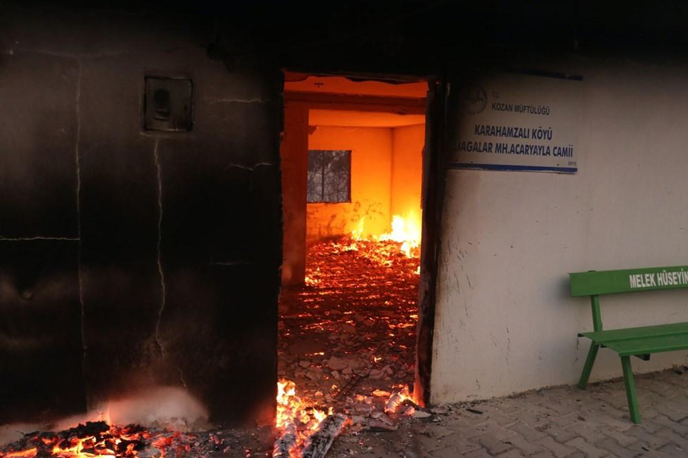Adana'da orman yangını: 8 köy boşaltıldı - 10