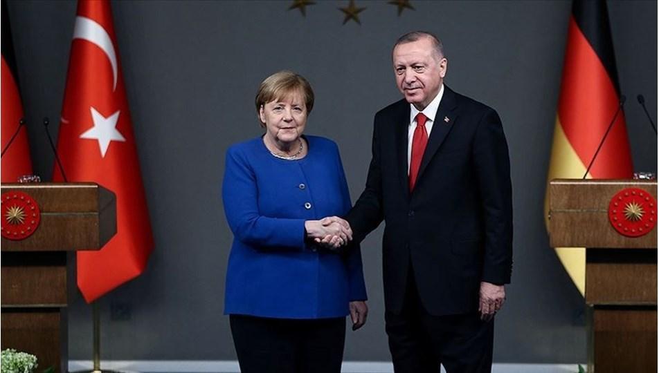 Erdoğan-Merkel görüşmesi (Ege ve Doğu Akdeniz vurgusu )