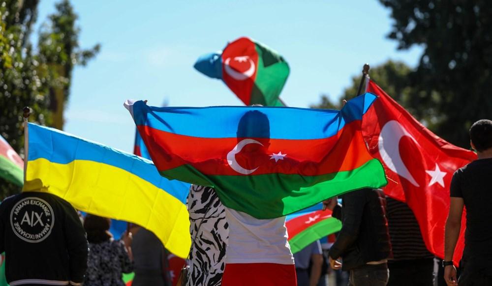 Beyaz Saray önünde Azerbaycan'a destek mitingi düzenlendi - 7