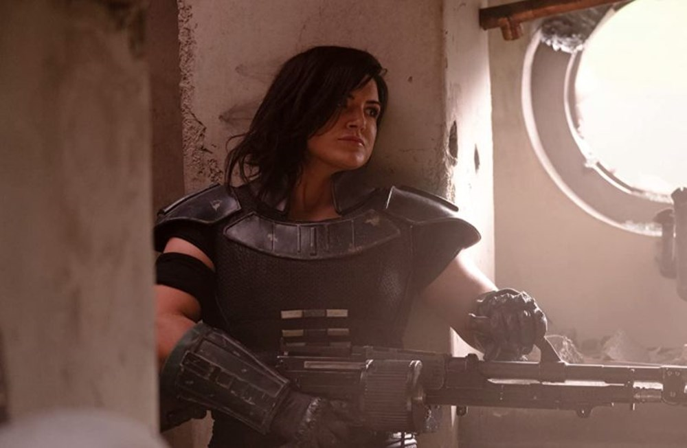 Gina Carano (Cara Dune) The Mandalorian dizisinden kovuldu - 4