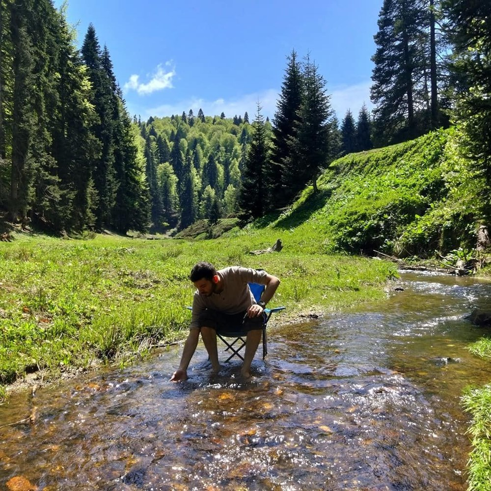Doğanın lezzetlerini doğanın huzuruyla buluşturuyor (Doğadaki Cheff) - 26