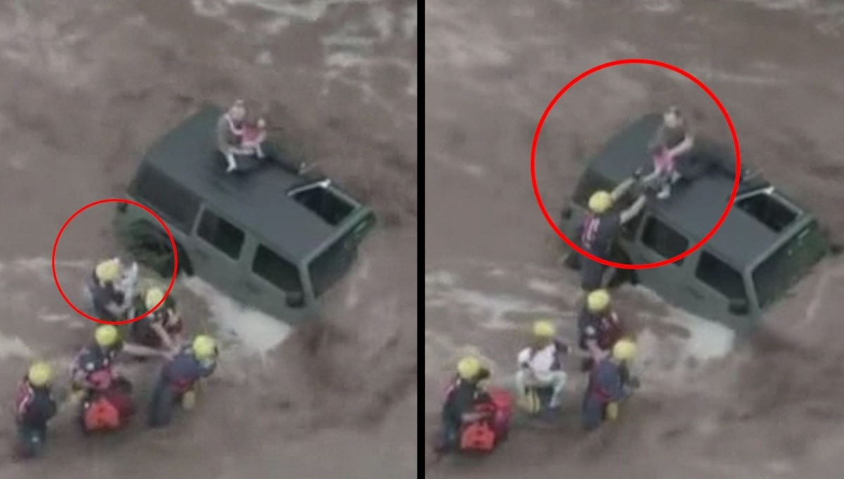 Flood disaster in the USA: This is how father and two daughters were rescued