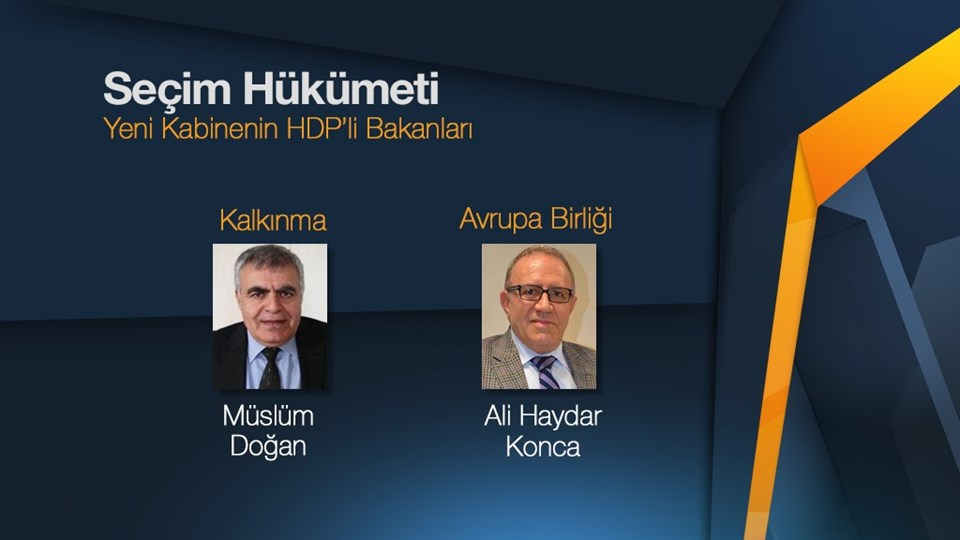 Müslüm Doğan-İzmir, Ali Haydar Konca-Kocaeli milletvekili