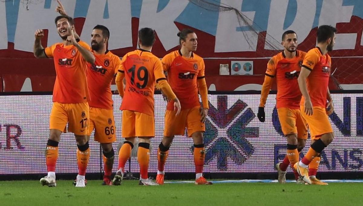 Trabzonspor'u yenen Galatasaray liderliğe yükseldi