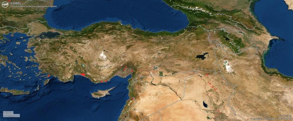 NASA, dünyadaki orman yangınlarını takip etmek için yeni bir platform kurdu: Türkiye'deki yangınlar uydudan izlenebiliyor - 3