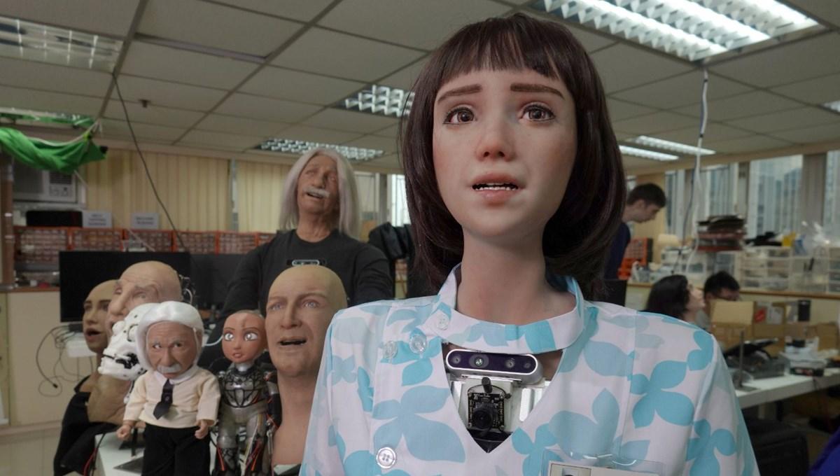 Robot Sophia'ya kardeş geldi: Robot hemşire Grace
