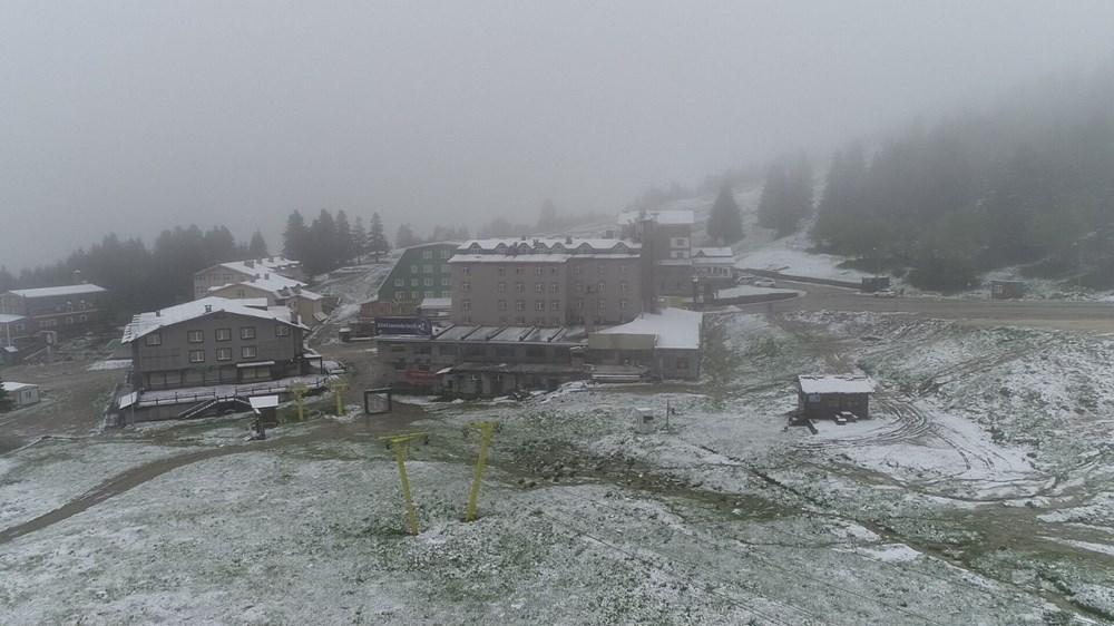 Geçen hafta 30 derece bugün kar - 3