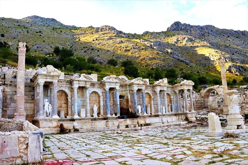 Burdur'unantik güzelliği: Sagalassos Antik Kenti - 10