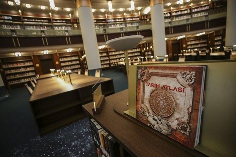 Cumhurbaşkanlığı Millet Kütüphanesi'ni 1 yılda yaklaşık 342 bin kişi ziyaret etti - 7