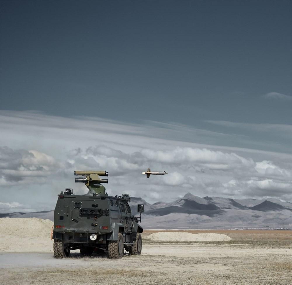 Silahlı drone Songar, askeri kara aracına entegre edildi (Türkiye'nin yeni nesil yerli silahları) - 185