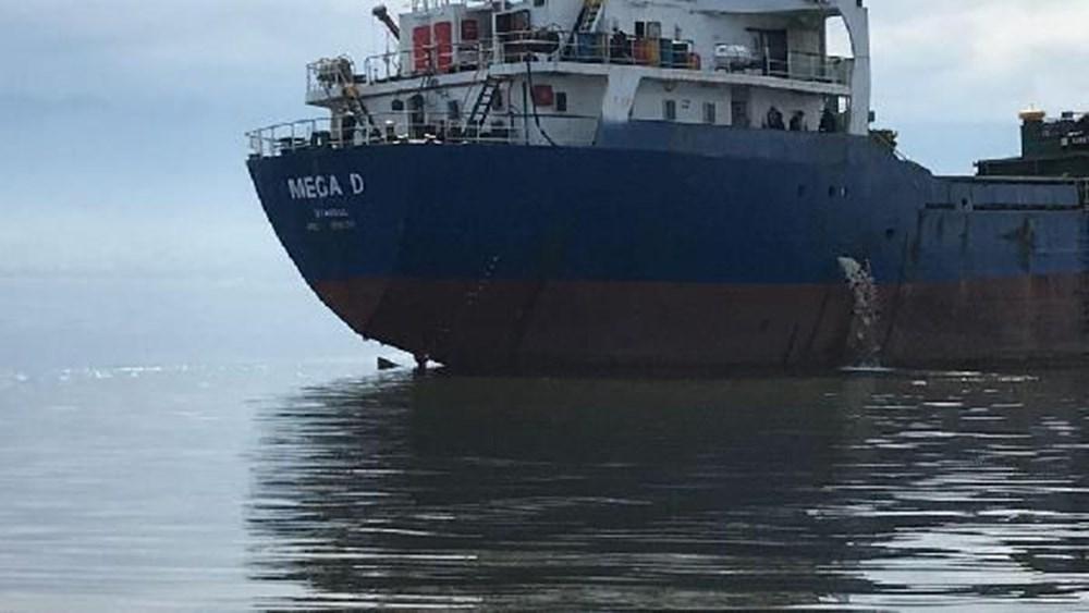 Denizi kirleten gemiye suçüstü - 2