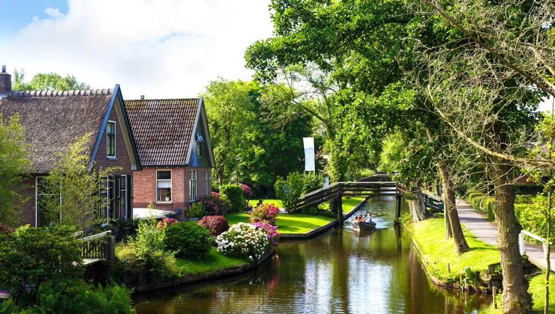 Hollanda'nın masal diyarı: Giethoorn Köyü