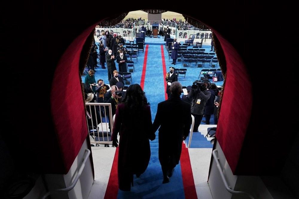 Joe Biden'ın yemin töreninden kareler (ABD'nin 46. Başkan Joe Biden göreve başladı) - 16