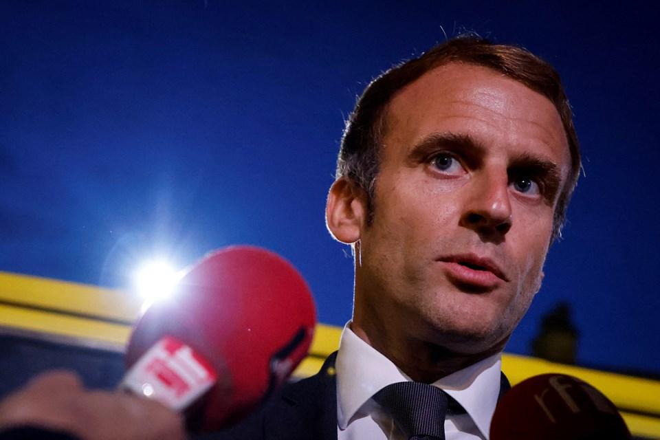 Cezayir'in Macron öfkesi: Hava sahası Fransız askeri uçaklara kapatıldı | NTV