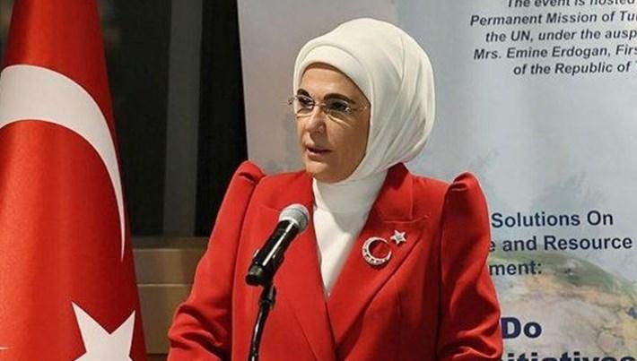 Emine Erdoğan, Sıfır Atık projesini BM'de anlattı