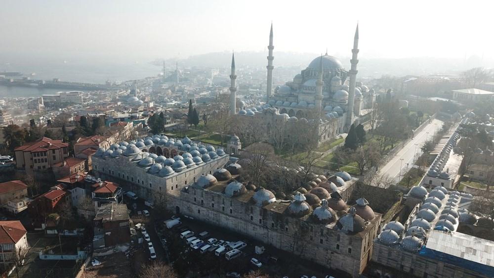 Vakıflar Genel Müdürlüğü: Süleymaniye Külliyesi'nde restorasyon emin ellerde devam ediyor - 7