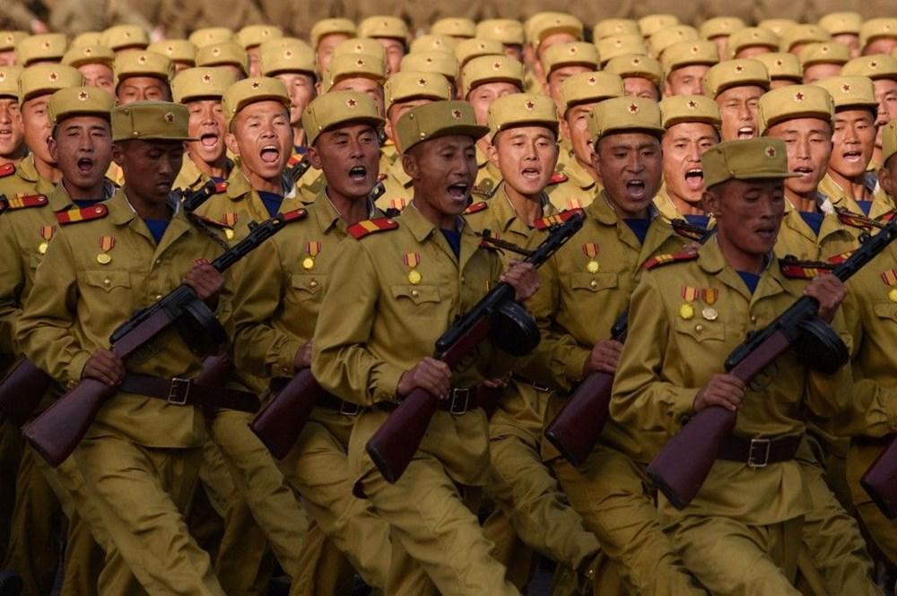 Kuzey Kore tarihi geçit törenine hazırlanıyor - 7