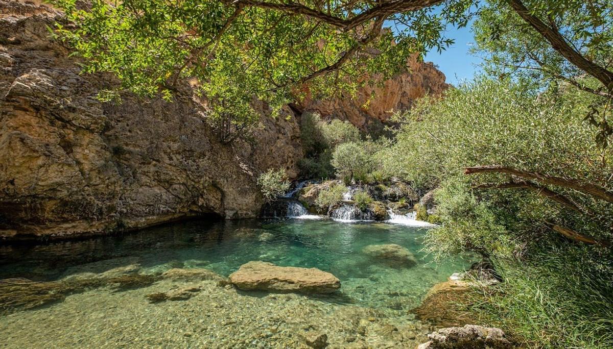 Şuğul Kanyonu'nda sonbahar güzelliği