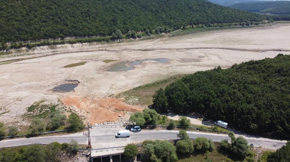 İstanbul'un su ihtiyacını karşılayan Trakya'daki barajlar kurudu - 10