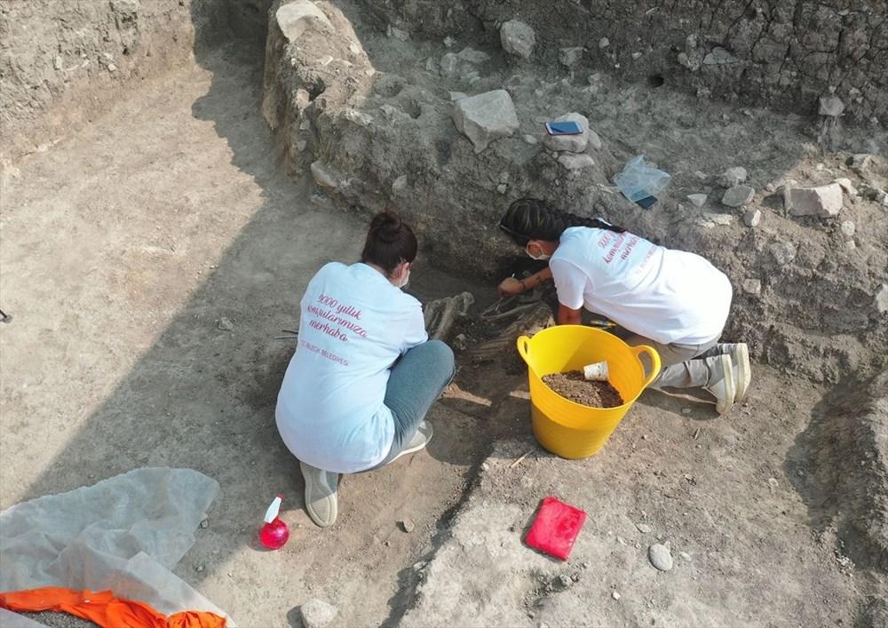 Bilecik'teki Batı Anadolu'nun en eski ergen iskeleti bulundu - 6