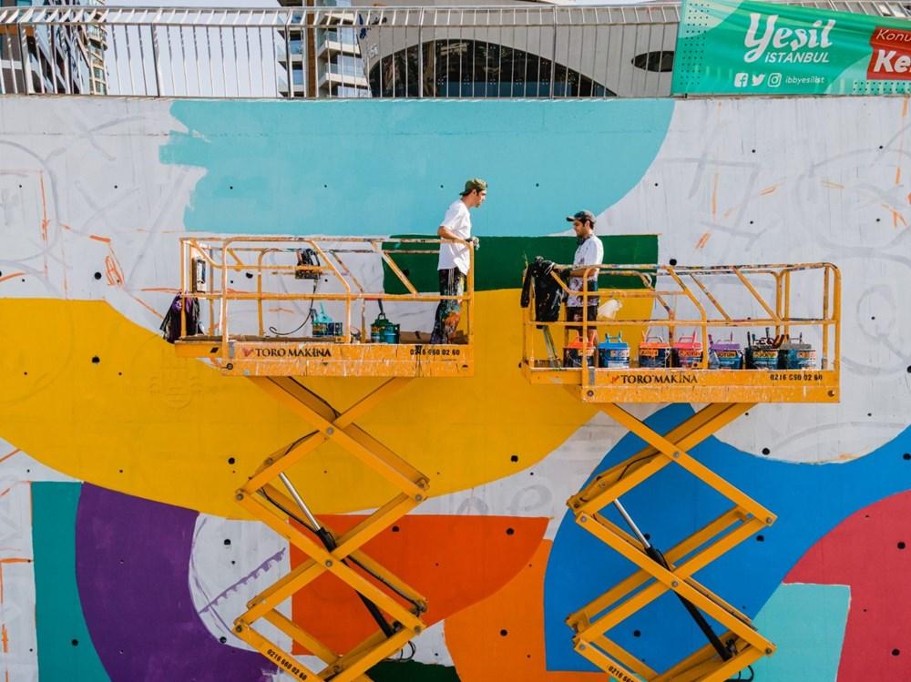 İstanbul'un duvarları renkleniyor - 4