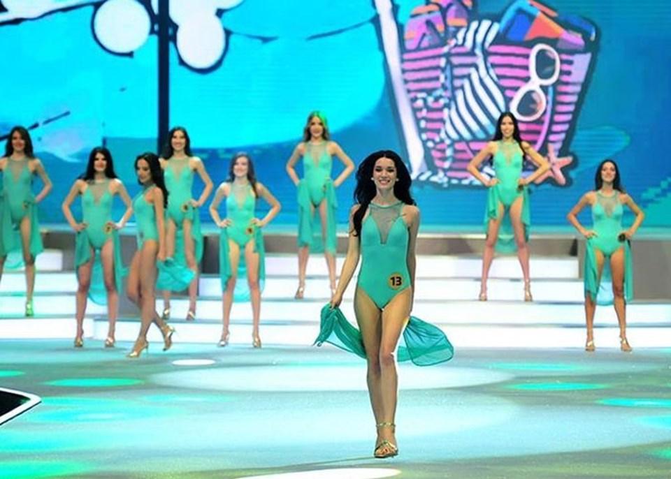 Hazal Subaşı -Elidor Miss Turkey 2015 üçüncü güzeli