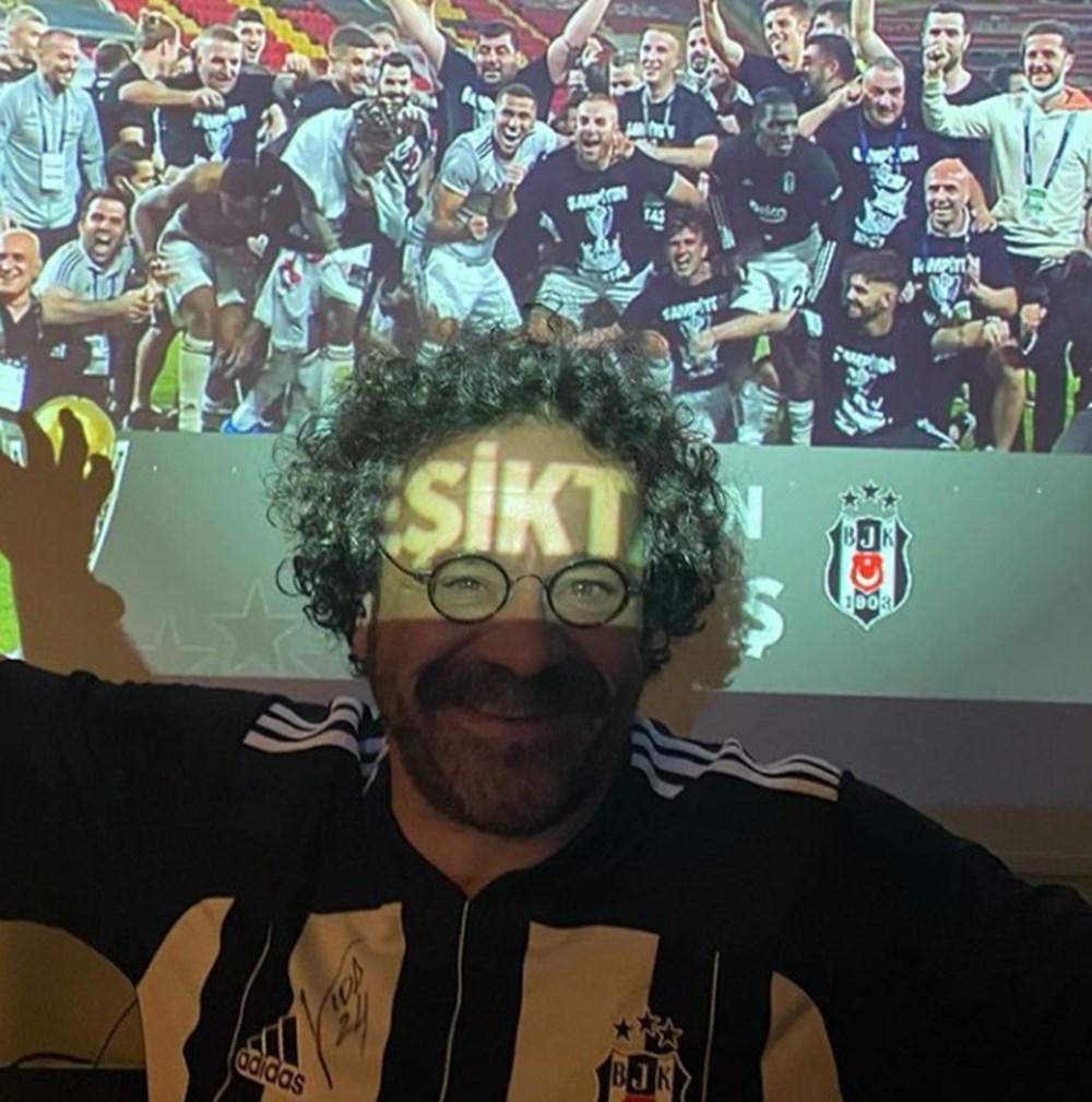 Ünlülerden Beşiktaş'ın şampiyonluk paylaşımları - 17