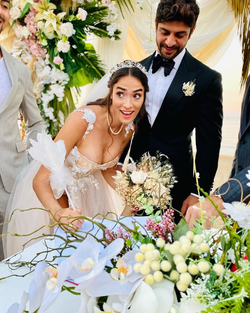 Survivor Melisa Emirbayer ile Sami Hamidi evlendi - 2