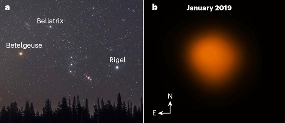 """Devasa yıldız """"Betelgeuse""""un geçen yıl aniden ortadan kaybolmasının gizemi çözüldü - 1"""