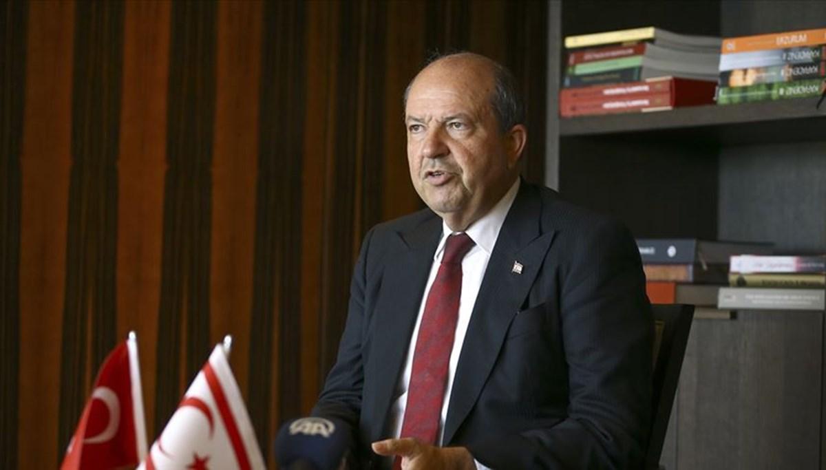 SON DAKİKA:KKTC Cumhurbaşkanı: Anavatan Türkiye'ye dil uzatanlar, tarihi gerçekleri çarpıtmaya devam ediyorlar
