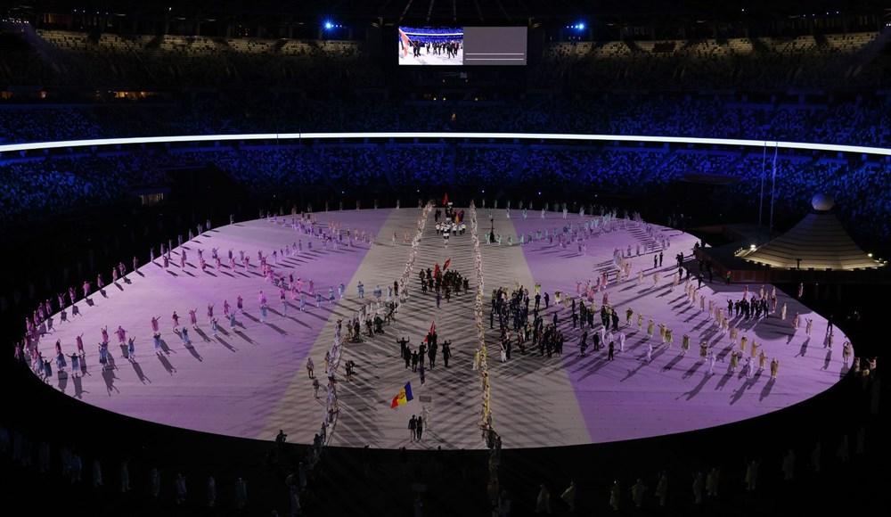 2020 Tokyo Olimpiyatları görkemli açılış töreniyle başladı - 81