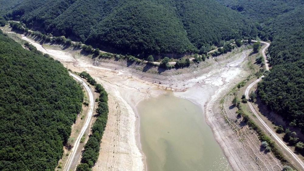 İstanbul'un su ihtiyacını karşılayan Trakya'daki barajlar kurudu - 6