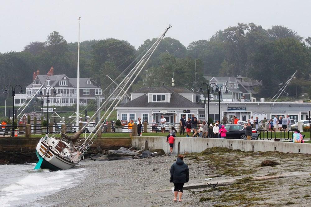 ABD'de Henri Kasırgası etkili oluyor: 140 bin haneye elektrik verilemiyor - 11