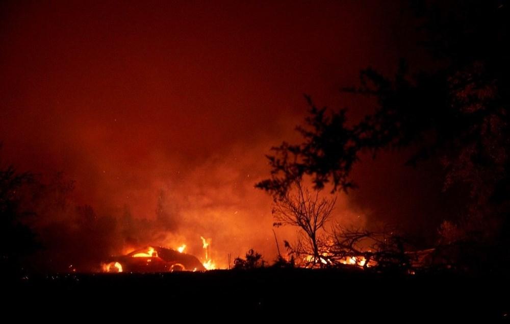 California'da yangınlar bitmiyor - 8